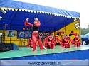Zespół taneczny z GOK ˝Pierwszy Krok˝ - układ pt. ˝Wschód słońca˝