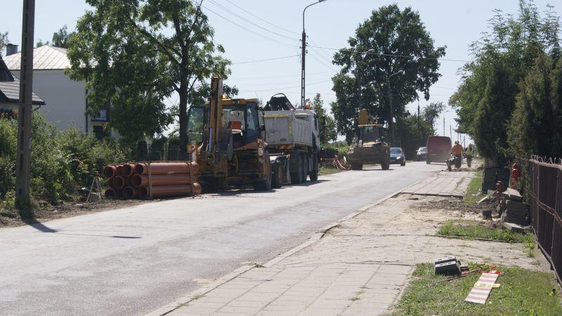 Kolejne ulice modernizowane wCzyżewie